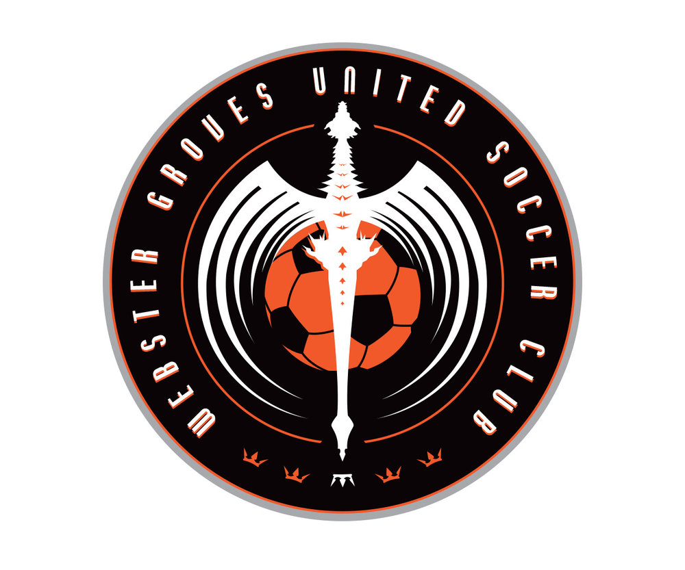 custom soccer logo design for gu soccer by jordan fretz design