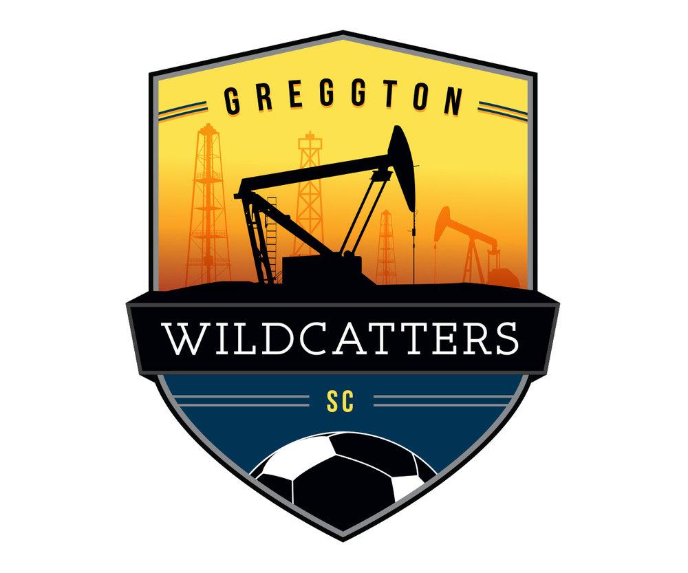 custom soccer logo design for greggton wildcatters soccer by jordan fretz design