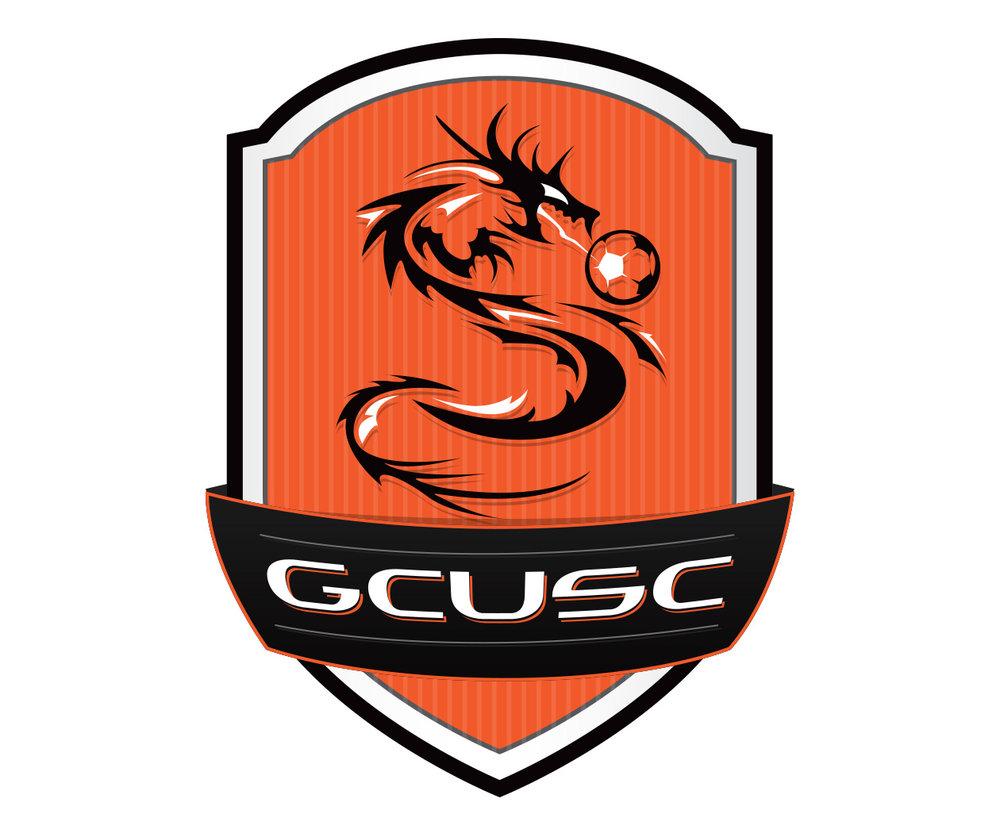 custom soccer logo design for gcu soccer by jordan fretz design