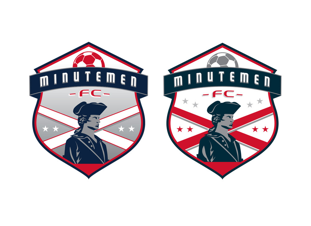 minutemen fc sports logo