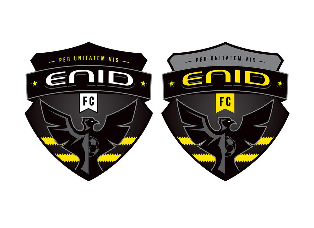 enid soccer logo