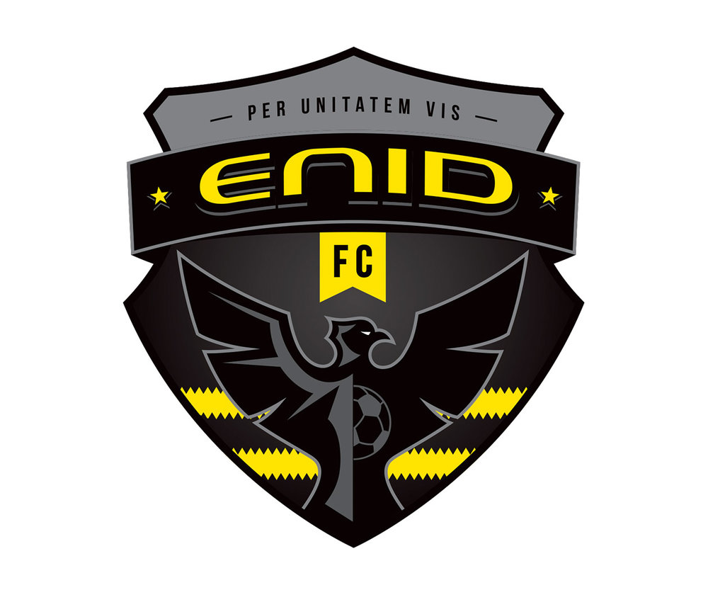 Enid FC sports logo design