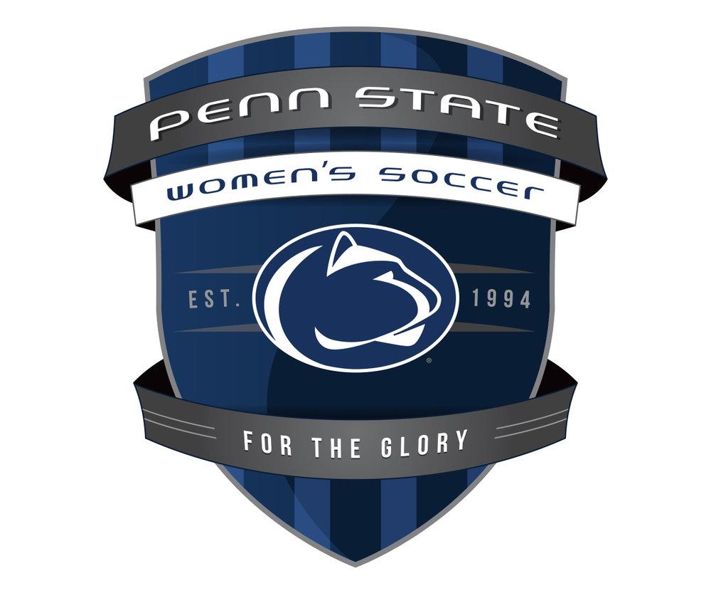 Penn State Women's Soccer Logo Design by Jordan Fretz