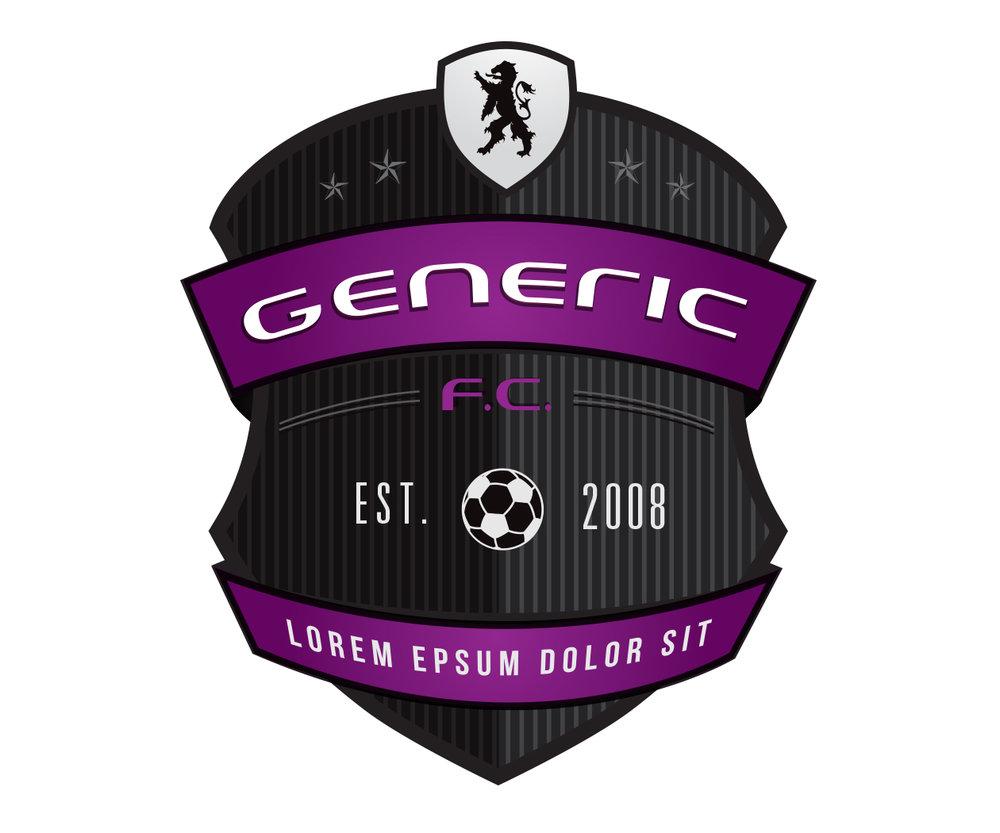 custom soccer logo design for tulsa university soccer by jordan fretz design