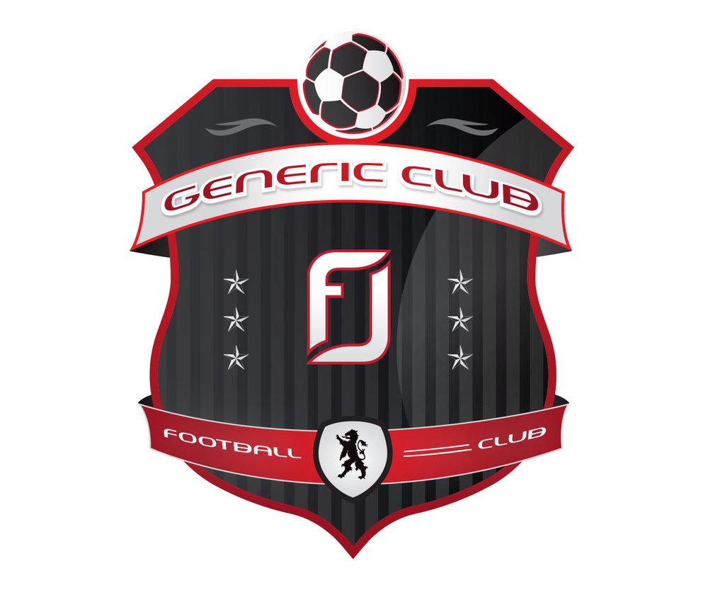 custom soccer logo design for the greenville legends soccer team by jordan fretz design