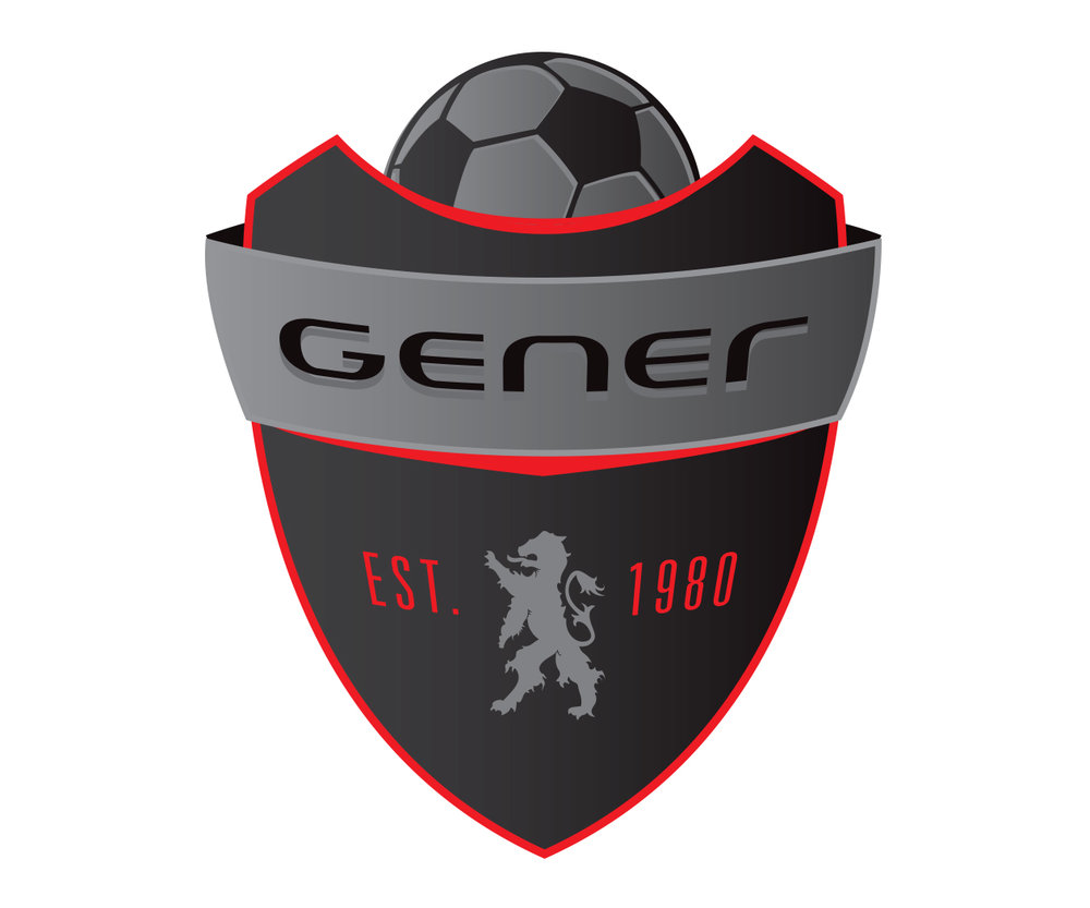 custom soccer logo design for greenville lions soccer by jordan fretz design