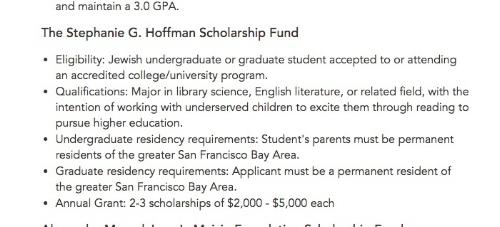 Screenshot from  JCF website