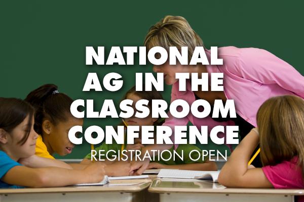 Calendar — Ag in the Classroom