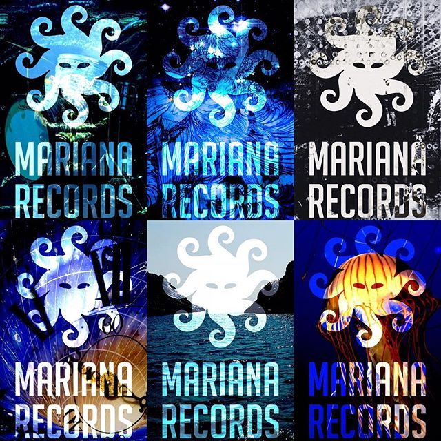 Each member of the #marianarecords family gets their own custom t shirt. Here are some upcoming designs