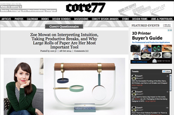 CORE 77, OCTOBER 2014