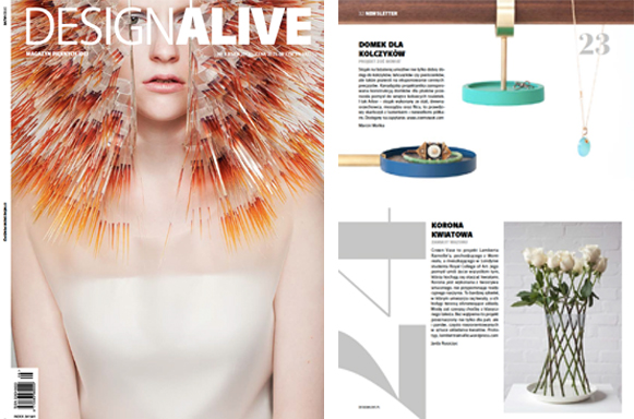 DESIGN ALIVE MAGAZINE, AUTUMN 2013