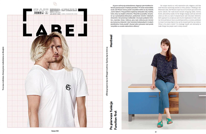 LABEL MAGAZINE, ISSUE 21 FALL 2016