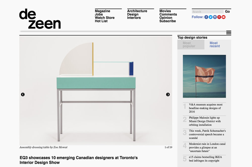 DEZEEN, WINTER 2016