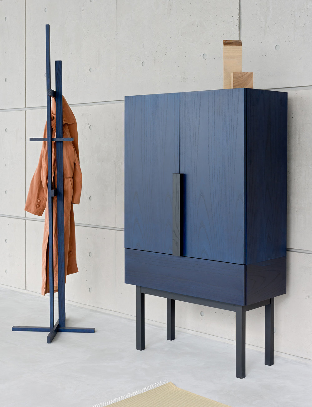 with Elements Coat Stand by Shin Azumi fro Ariake
