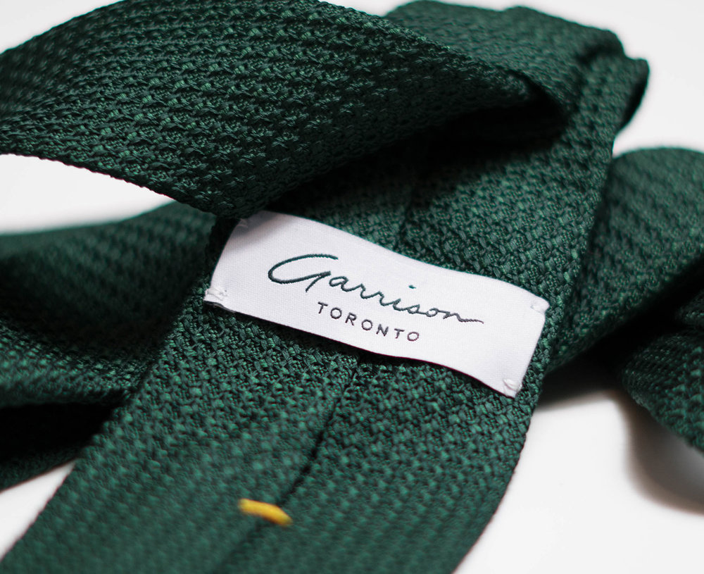 Grenadine Garza Grossa in Forest Green - $85.00