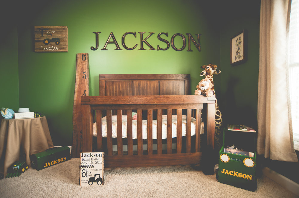 Photography is all about the details, but a wide bedroom shot helps with the story for mom and dad.