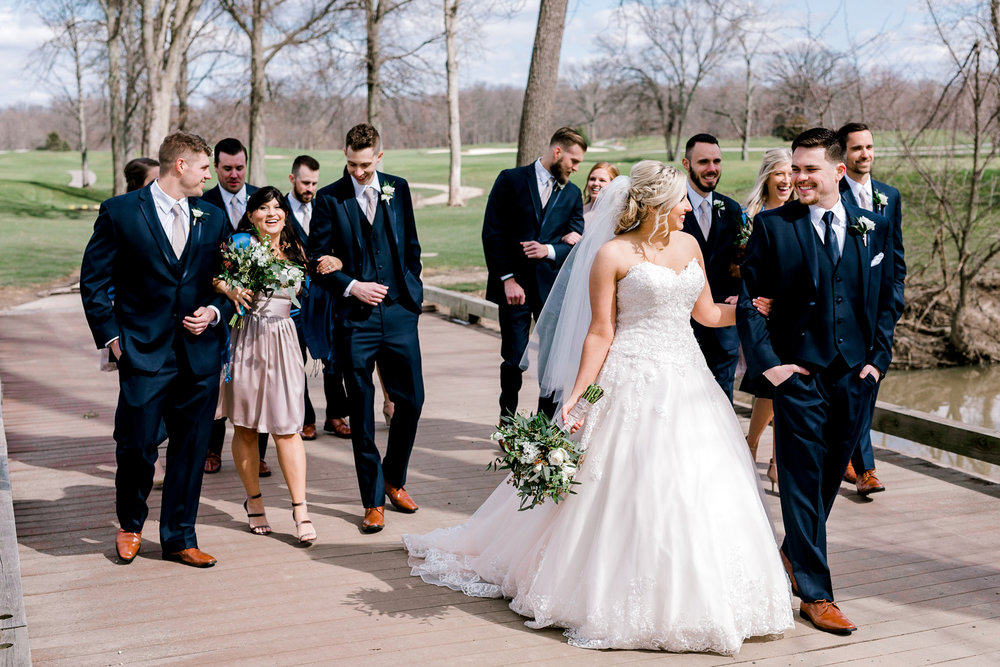 Bent Tree Golf Course Wedding Columbus Ohio roxannasuephotos