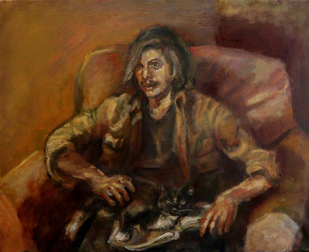 Portrait of Nicholas Nadja