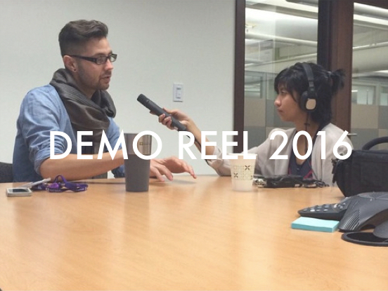 Audio demo reel includes selections from the Humanosphere podcast, The Daily of the UW's Sound Bite, and a story produced for NPR's Next Generation Radio program.
