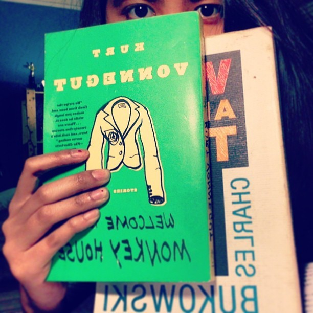 agreatergatsby :     Babies. #kurtvonnegut #charlesbukowski #poetry #books #literature
