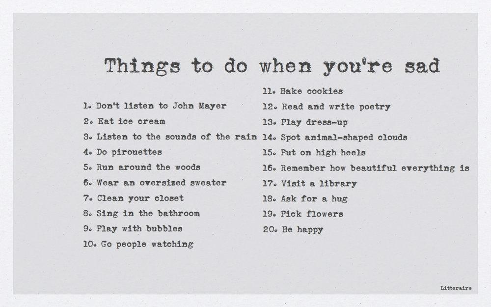 Happy things. X