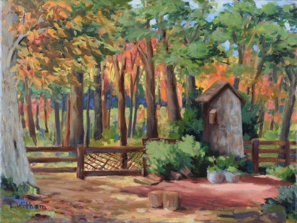 Maples and Oaks (2015, plein air)