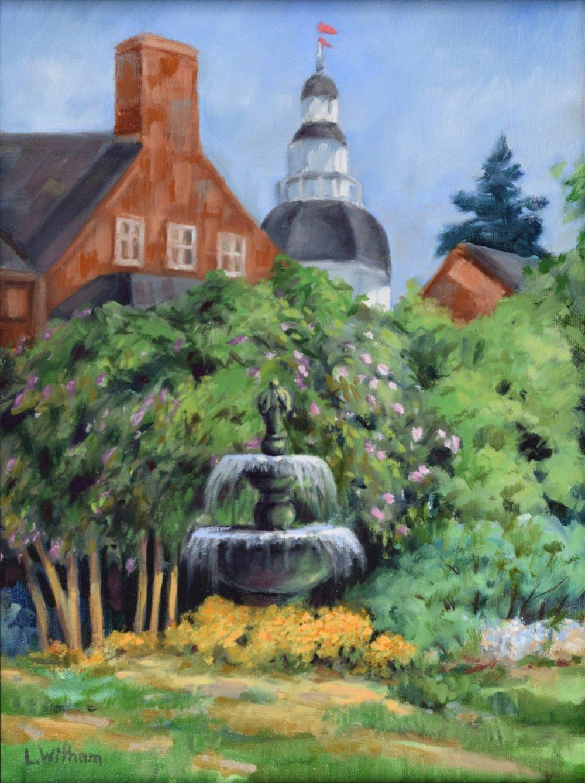 Statehouse Fountain (2015)