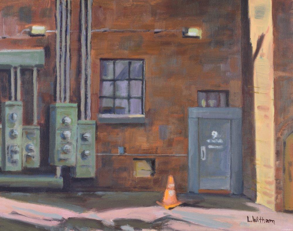 Back Alley (2016, plein air)