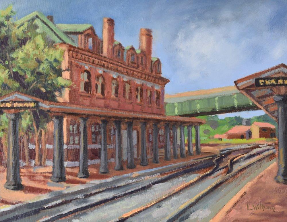 Cumberland Station (2016, plein air)