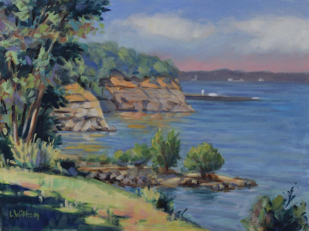 Calvert Cliffs (2016, plein air)