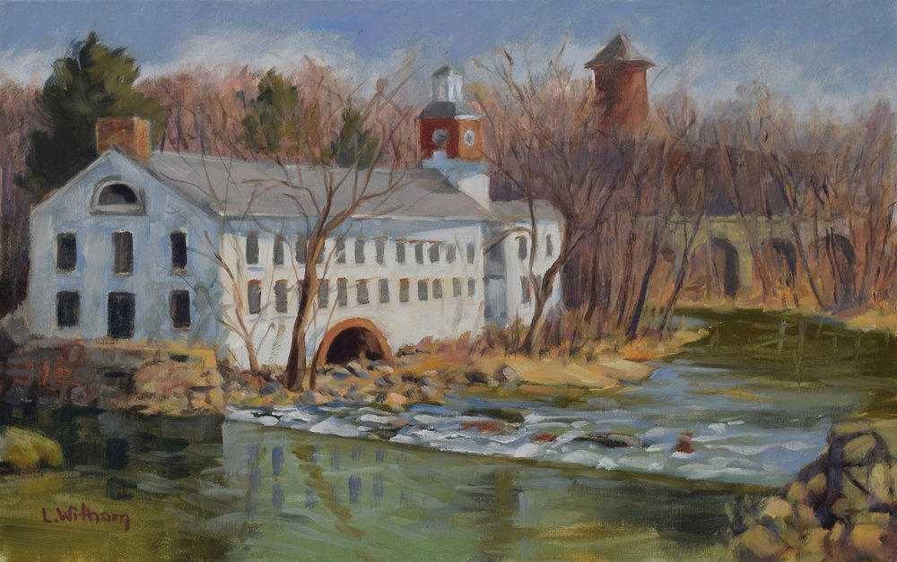 Walker's Mill (2017, plein air)
