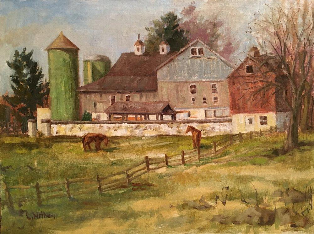 Horse Heaven, Brandywine (2017, plein air)