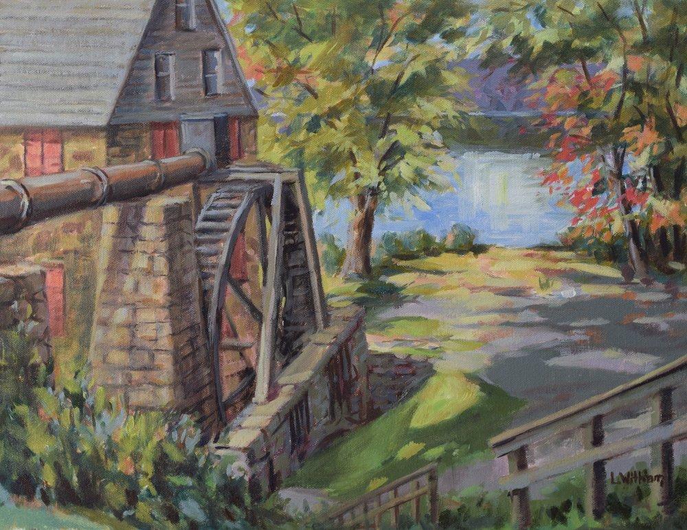 Susquehanna Mill (2017, plein air)
