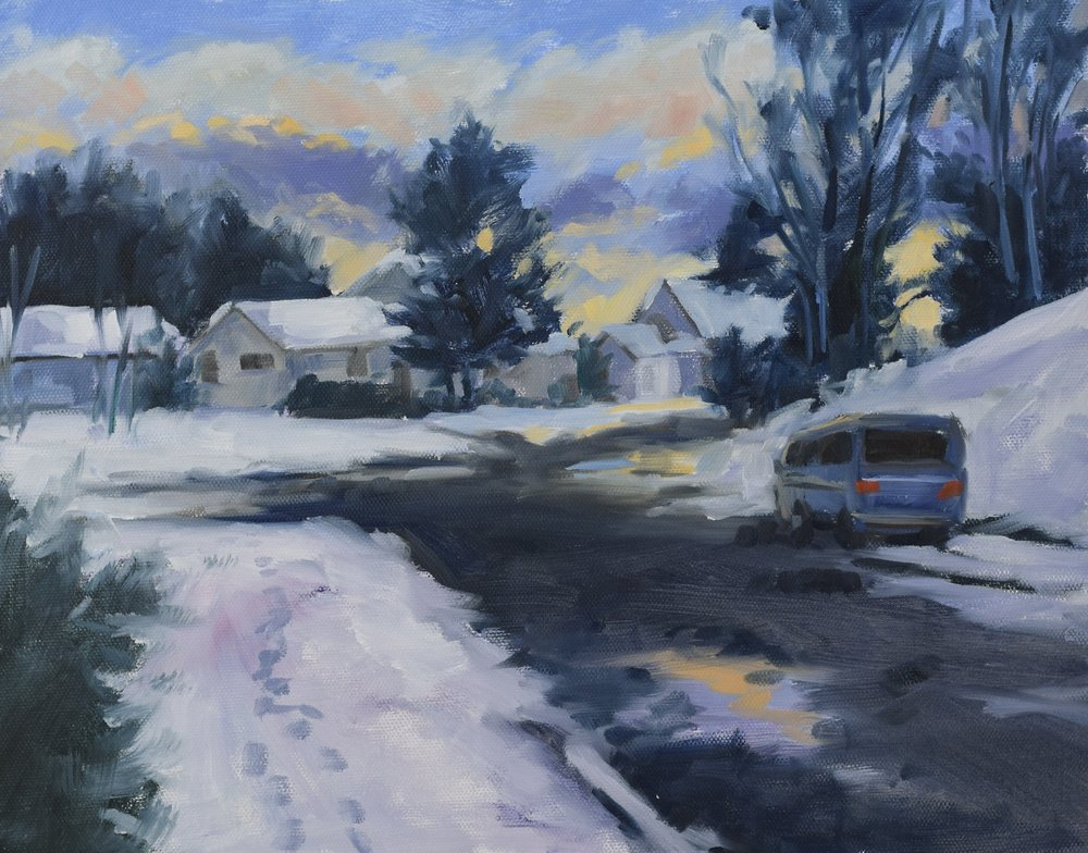 Snowy Street (2017)