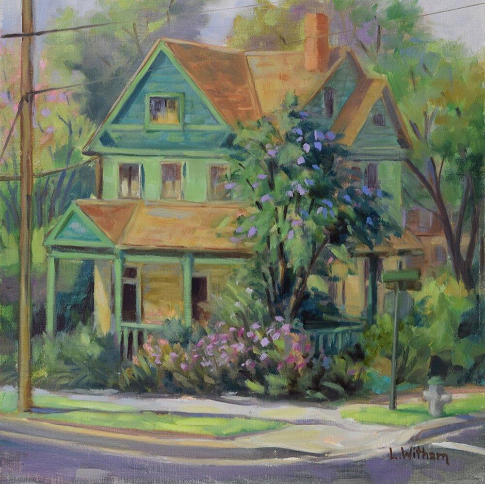 Green House (2016, plein air)