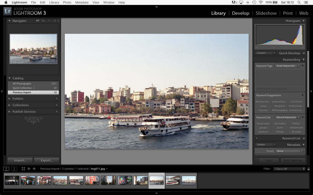 LightRoom - Image Imported