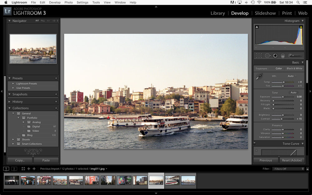 LightRoom - Tweaks Applied