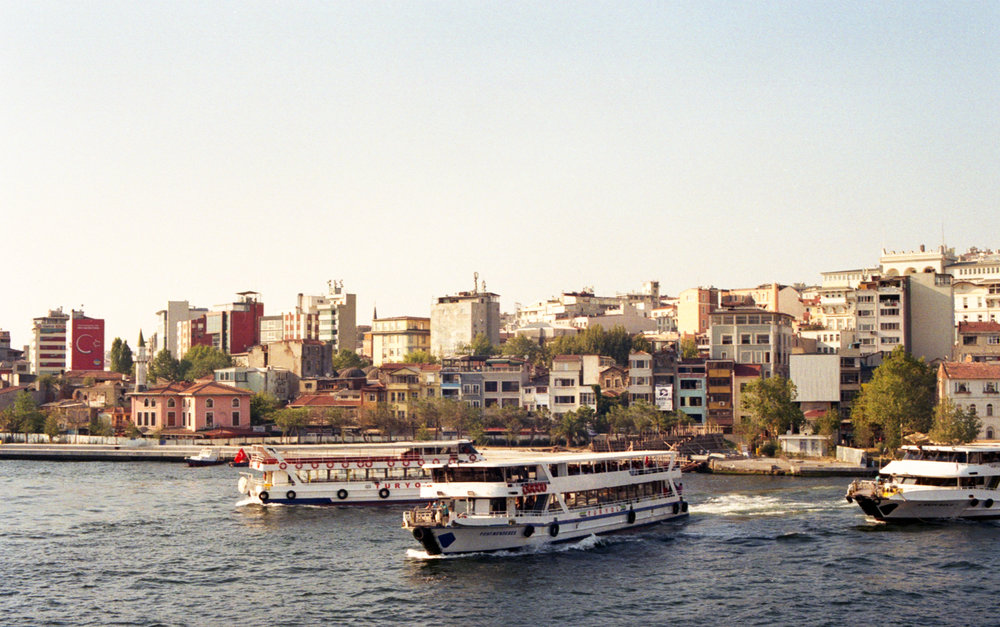Istanbul Harbour - August 2017