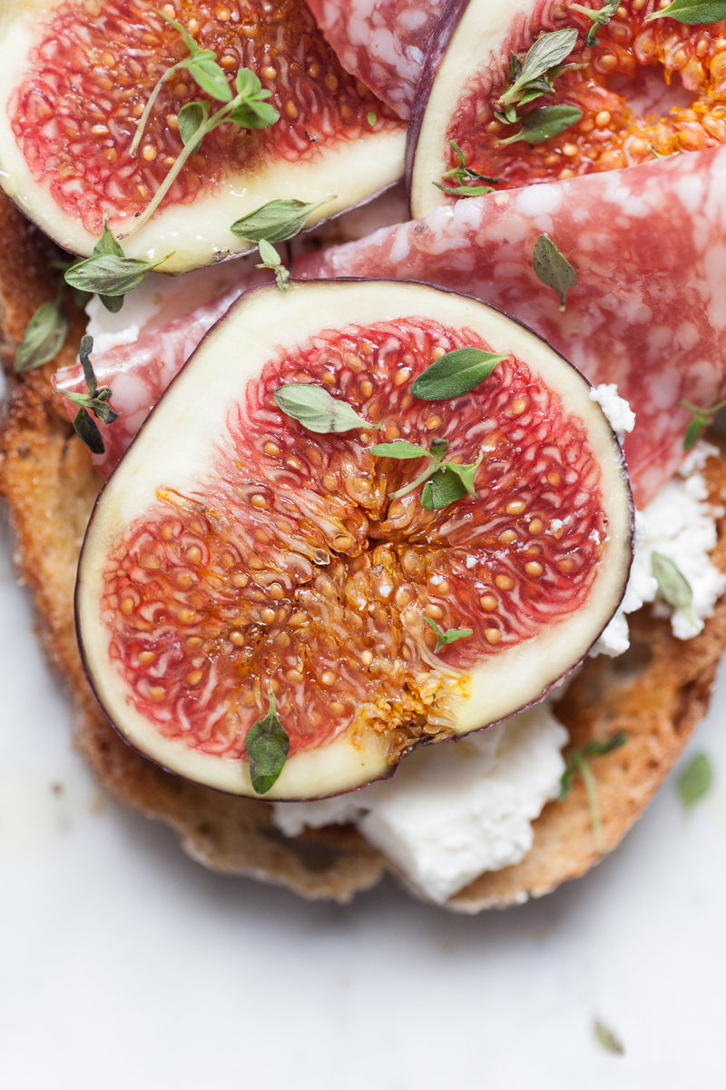 Capture Collect - Hikaru Funnell - Still Life Food Photographer - Bruschetta with Figs Ricotta and Cured Meat - August 14th 2018  3.jpg