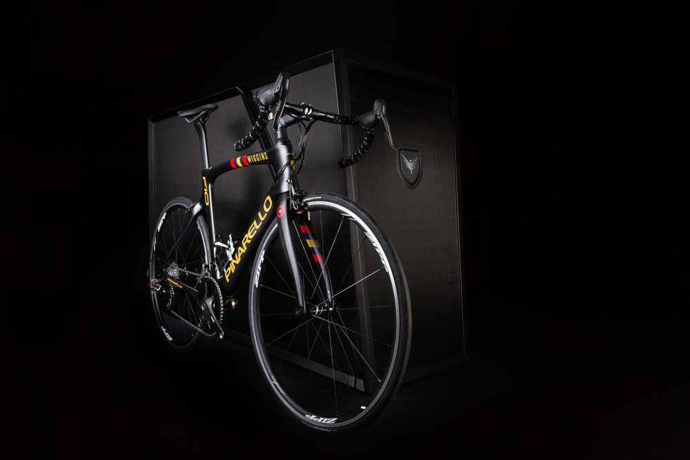 Capture Collect - Still Life Photography - Velohawk - Carbon Fibre Bike Storage - Black Background - August 17th 2018 12.jpg