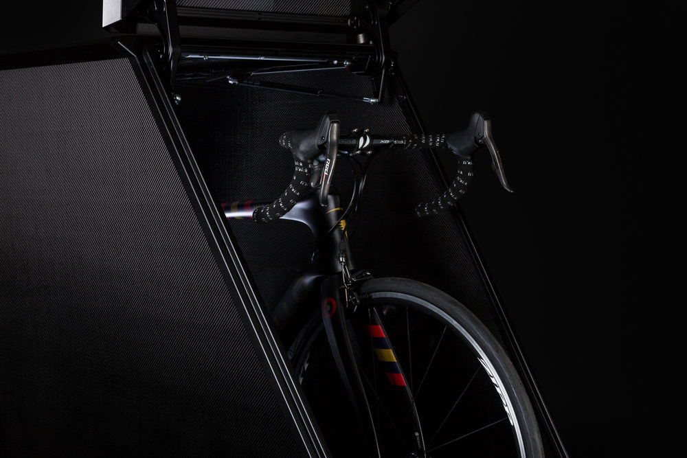 Capture Collect Photography London - Hikaru Funnell - Still Life Product Photography - Velohawk - Carbon Fibre Bike Storage - Black Background - August 17th 2018 4.jpg
