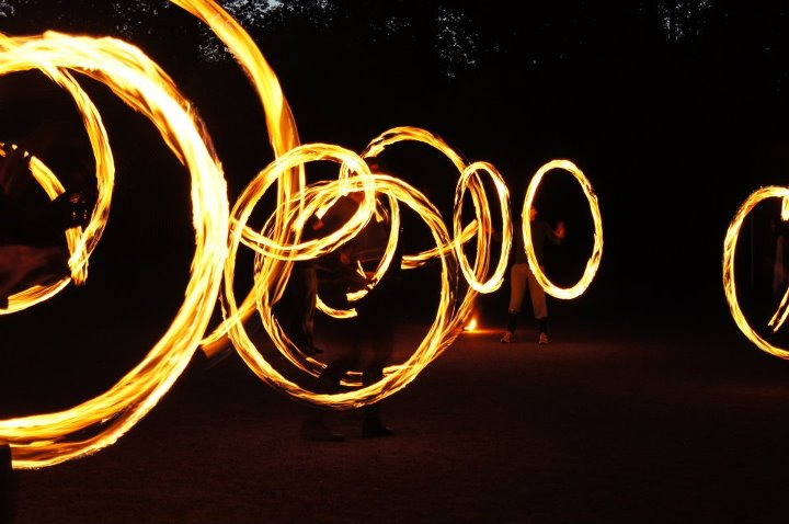 Fire Spinning Show
