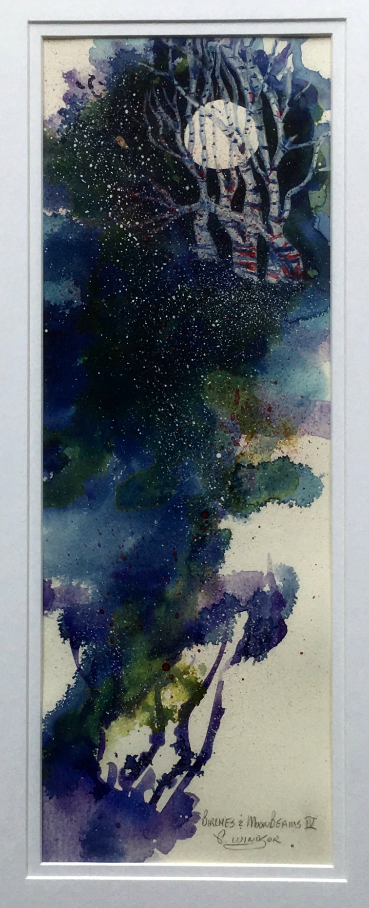 Birches & Moonbeams IV