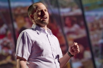 Aaron Reedy takes us on a quick tour of evolution and natural selection from the stage  at TED . But what's more interesting than what we know, he adds, and the question that all curious students ask him: How do we know all this?