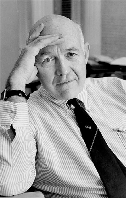 American sociologist, James Coleman (1926-1995). Alma mater: Columbia University