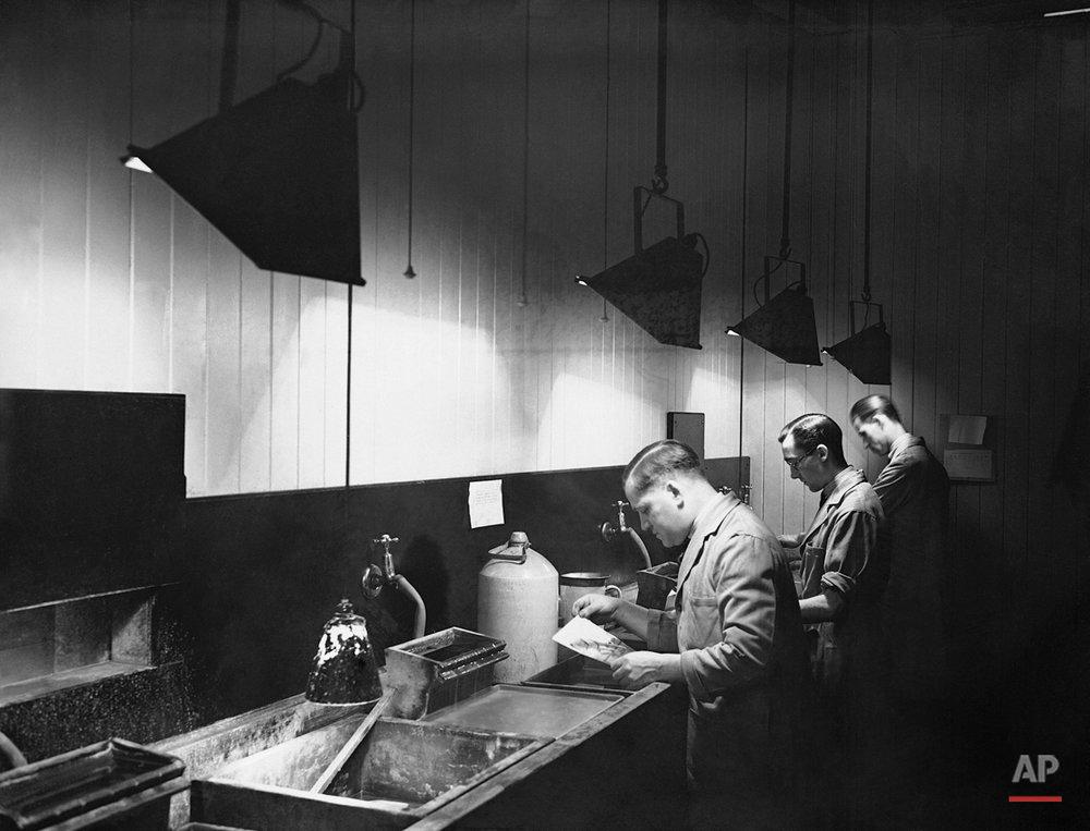 AP London Bureau Darkroom 1930s