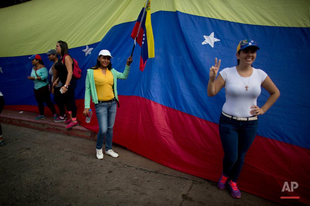 Venezuela's Opposition Protest