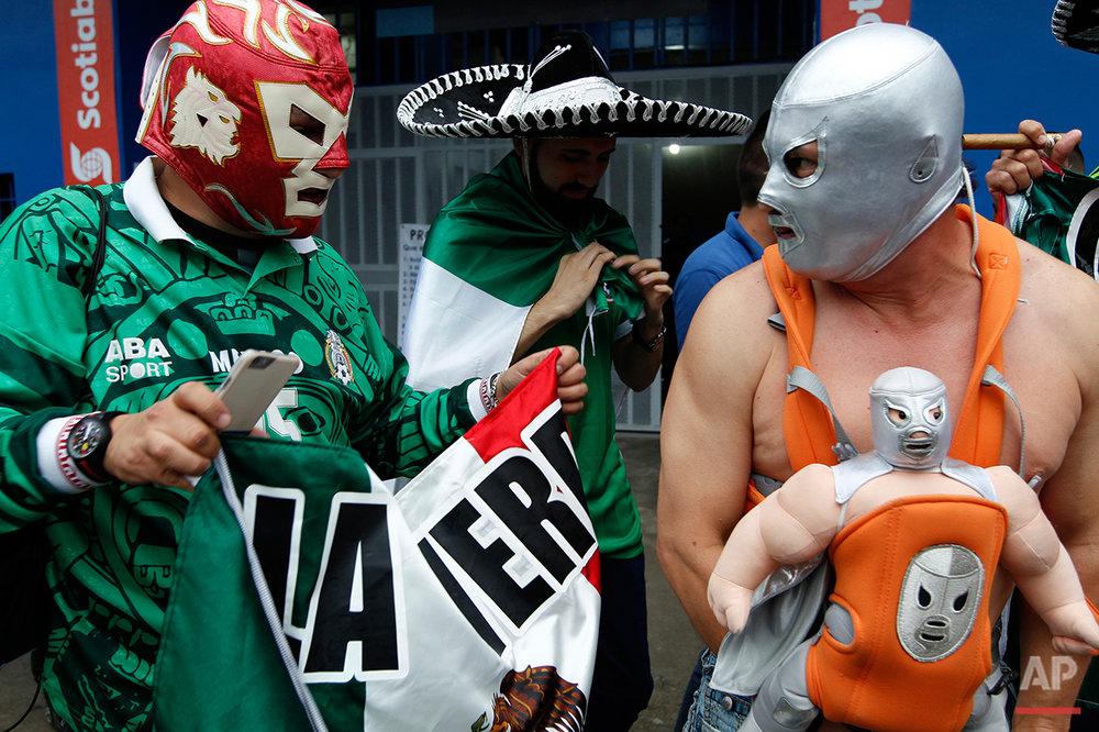 El Salvador vs. Mexico World Cup Soccer