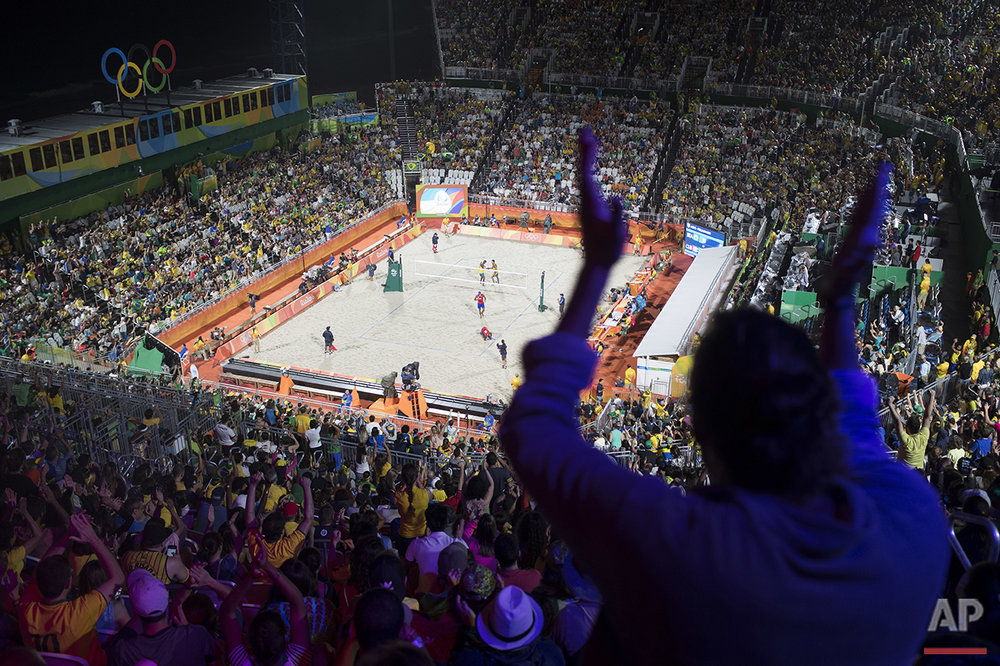 in Rio de Janeiro, Brazil, Sunday, Aug. 7, 2016. (AP Photo/Felipe Dana)
