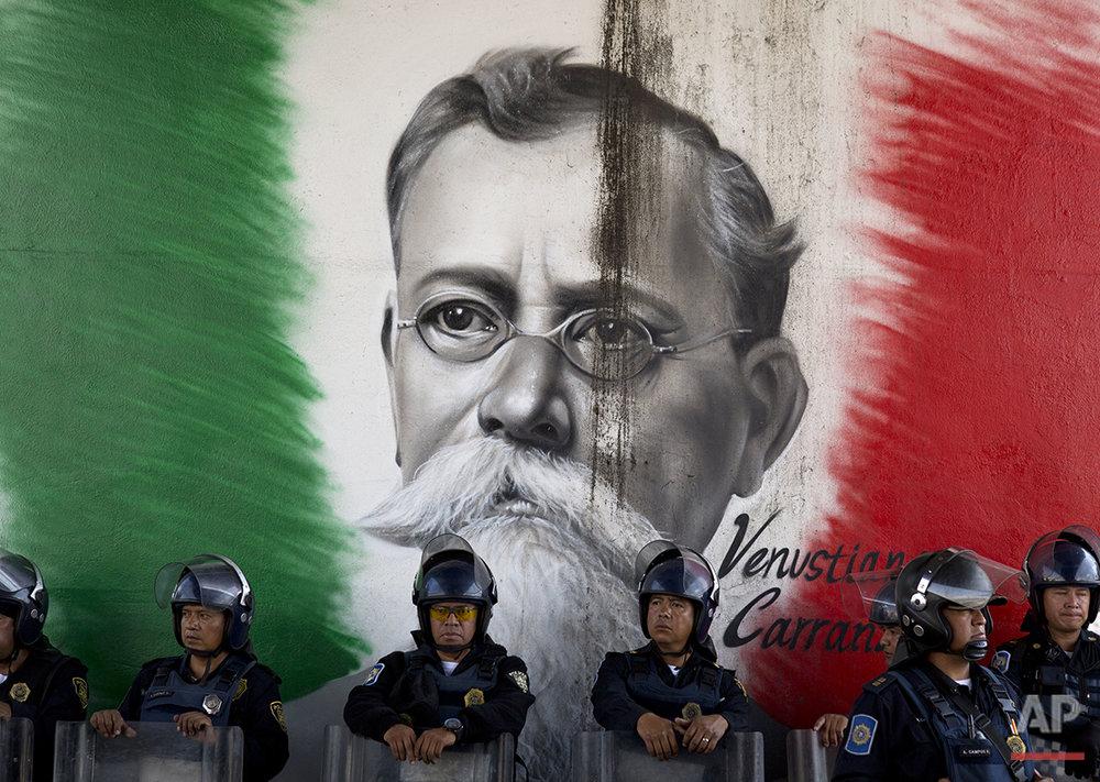 Mexico Teachers Protest